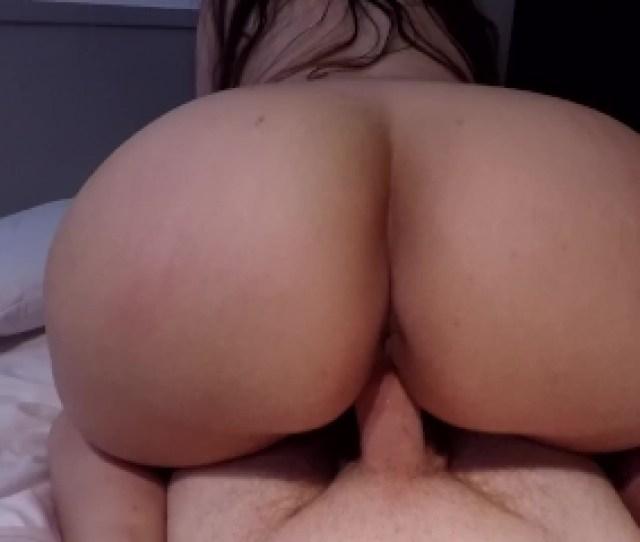 Big White Ass Rides Cock Pov Reverse Cowgirl Deep Sexy Creampie Finish