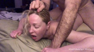 PAINAL Cute Blonde Gets Her Ass Fucked With a Vibrator Stuffed in Her Pussy