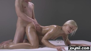 JOYMII- wild fucking nuru massage with blonde perfection