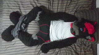 Sexy Fursuit Stripping