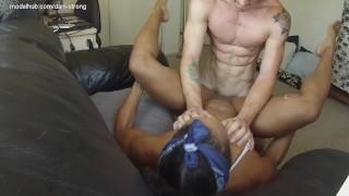 hottest ebony milf on Pornhub fucked hard and takes a huge facial | free!
