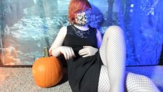 Worst Halloween Special Ever: Trans Girl Fucks a Pumpkin