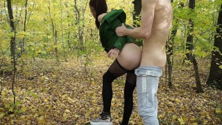 18 Years Old Amateur Girl In Beautiful Forest - Amateur Couple Koskaetleska