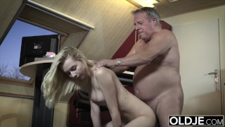This girl has sex with her stepdad and she is so fucking hot