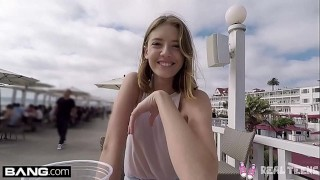Real Teens - Teen POV pussy play in public