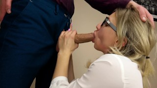 Student Girl Suck my Big Cock!
