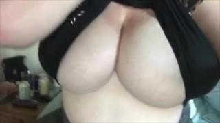 Big Natural Boobs Titty Drop