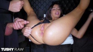 TUSHYRAW Beautiful Teen Has Secret Anal Fetish
