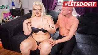 LETSDOEIT - Chubby German Teen Gets Filmed Fucking Her Sugar Daddy