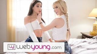 WebYoung Abella Danger Makes College BFF's Clit Quiver