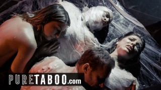 PURE TABOO Alien Abducted Couples Must Perform Live Sex Shows