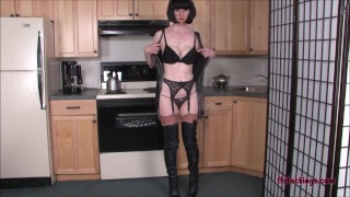 FFstockings - Panties, Stockings and Thigh Hi Leather Boots