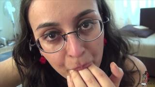 YASMEENA ALI DRAINS THE SMALL COCK