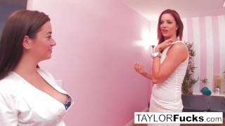Taylor's hot lesbian threesome