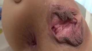 Rei Furuse in Asian threesome anal sex on cam - - More at Slurpjp.com
