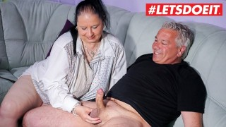 LETSDOEIT - Mature Housewife Gets Her Massive Tits Filled With Cum