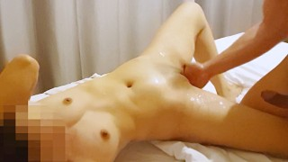 Homemade female to have real squirting orgasm while fucking her g-s