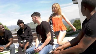 Lilly Lit Wants Gangbang With Her Cuckold Boyfriend's Black Friends