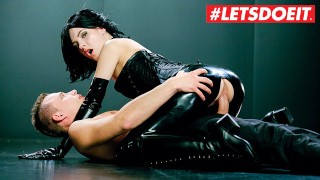 LETSDOEIT - Hot Czech Teen Fantasy Fucked Hard In Her Latex Suit