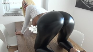 wetlook leggings booty fuck | CUMWALK and LEGGINGSWALK