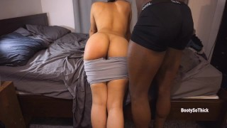 Spanking & Destroying my sexy Latina girlfriend until she can't