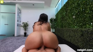 Middle Eastern Girl With Fat ass and Big Tits