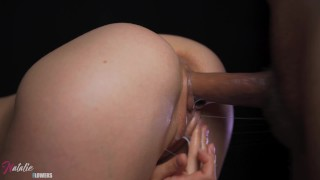 CloseUp Fuck wet Cunt. She Really Getting squirting Orgasm