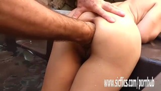 Anal fisting and giant insertions amateur