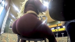 Thickumz - Fat Ass Blonde Caught At The Bowling Alley