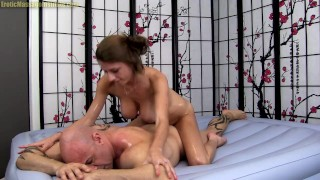 Erotic Body Slide Oil Massage By All Natural Big Tit Beauty -Dillion Carter