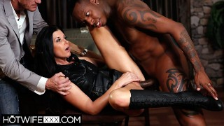 Shared Wife India Summer Gets BBC Trained in Front of Husband