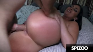 Sexy Bubble Butt Bangs Huge Dick (Brittany Shae) - Spizoo