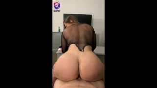 Reverse cowgirl anal, ass fucked mouth