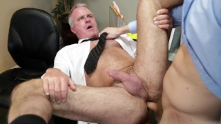 GAYWIRE - Jacob Peterson Puts His Dick In Boss Dale Savage's Ass At Work