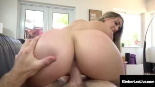 Hot Step Sister Kimber Lee Pussy Fucks Step Bro At Home!