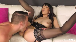 Hardcore Action With Natural Judy Being Roughly Fucked In Her Tight Pussy