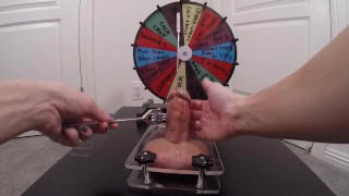 Wheel Of Misfortune - Take # 3 | Pain Before Pleasure | Clothespin Fail....