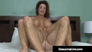 Southern Cougar Deauxma Mounts Young Guy's Pulsating Cock!
