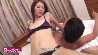 [OURSHDTV][中文字幕]Sexy model Riko Miyase hot fuck uncensored
