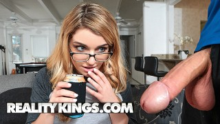 Reality Kings - Step sister Abby Adams loves yoga and big dick