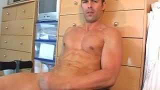 Beautiful str8 sport guy meet at gym club made a gay porn in spite of him