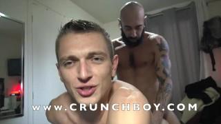 ROMANTIK fucked bareback by Gianno MAGGIO