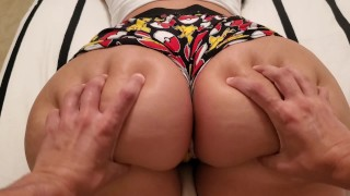 Big Booty Little Stepsister Was Playing My Switch So I Came In Her Pussy