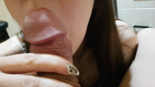 Blowjob and cum in mouth, all with the upcoming 2020