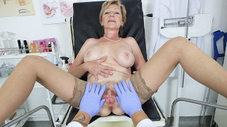 hairy 71 years old mom pov fucked by her doctor