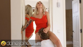 Dane Jones Blonde Russian Arteya romantic blowjob doggy and cowgirl