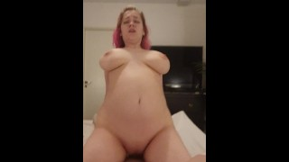 Spontaneous sex, POV riding, creampie -Amadani