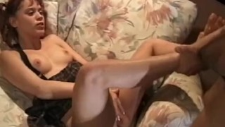 Lovely Woman Gives Pleassure with Horny Busty Slut