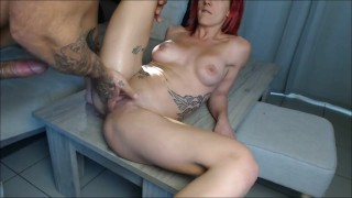Big squirt during a good fuck