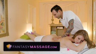 FantasyMassage Lena Paul is Hot & Bothered by Ex